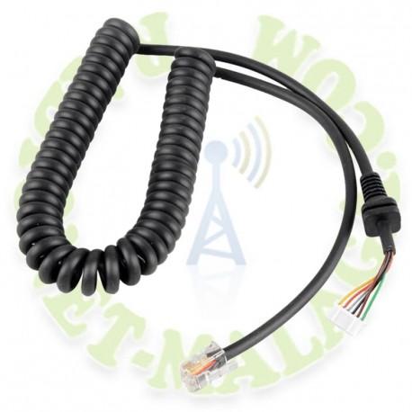 Cable para microfonos Yaesu MHrepuesto