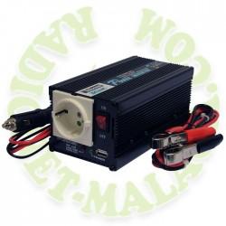 INVERSOR DE 12v A 220v TELECOM A-301/300-12